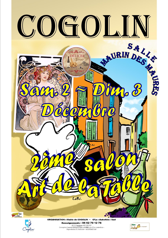 Gastronomie gastronomie art de la table cogolin - Salon art de la table ...