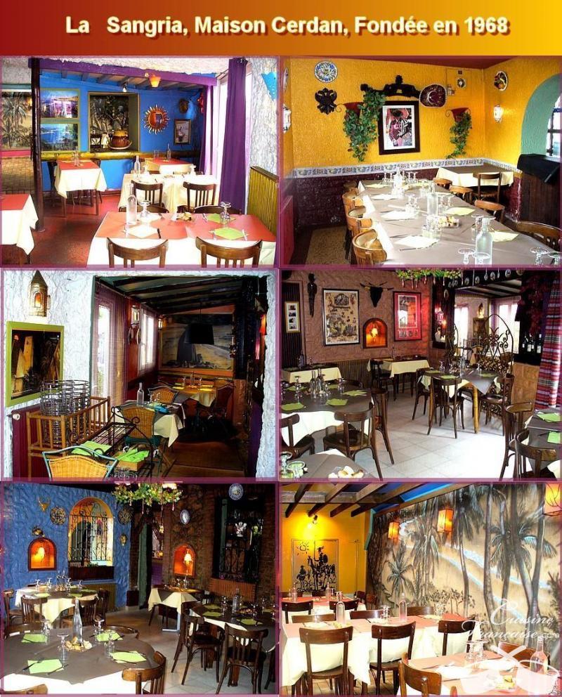 Restaurant La Sangria BoisGuillaume  Cuisine française ~ Restaurant Bois Guillaume