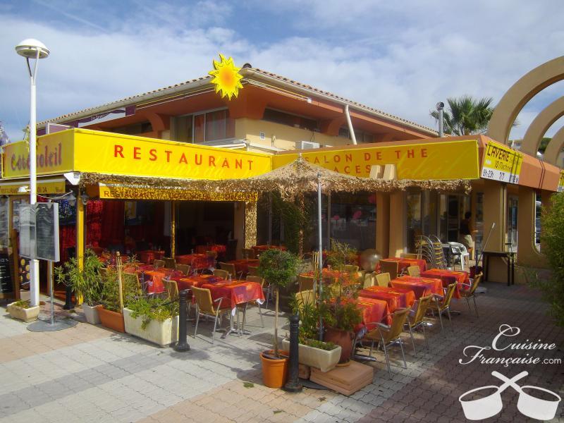 Restaurant c t soleil saint rapha l cuisine fran aise for Restaurant cuisine francaise