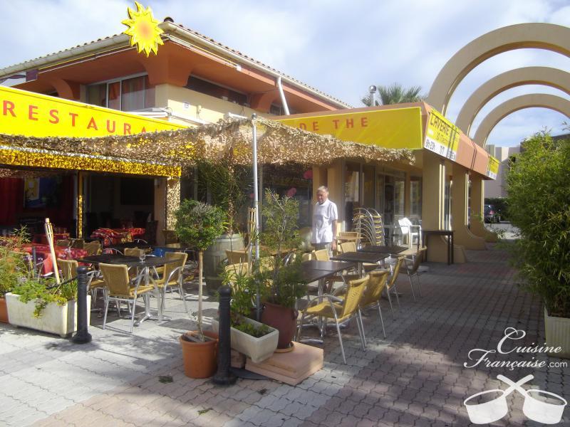Restaurant c t soleil saint rapha l cuisine fran aise - Restaurants port santa lucia saint raphael ...