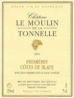 Chateau La Tonnelle Cotes de Blaye
